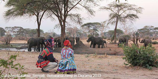 Dahlsten&Laakso_Seryati, Botswana/Jump in Diorama 2013