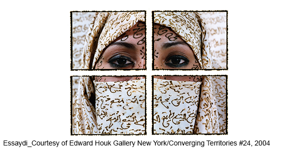 Essaydi (Courtesy of Edwyn Houk Gallery, New York)/Converging Territories #24, 2004