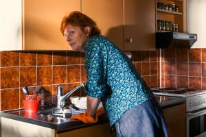 © Satu Haavisto & Aino Kannisto: Woman Washing Dishes, 2013