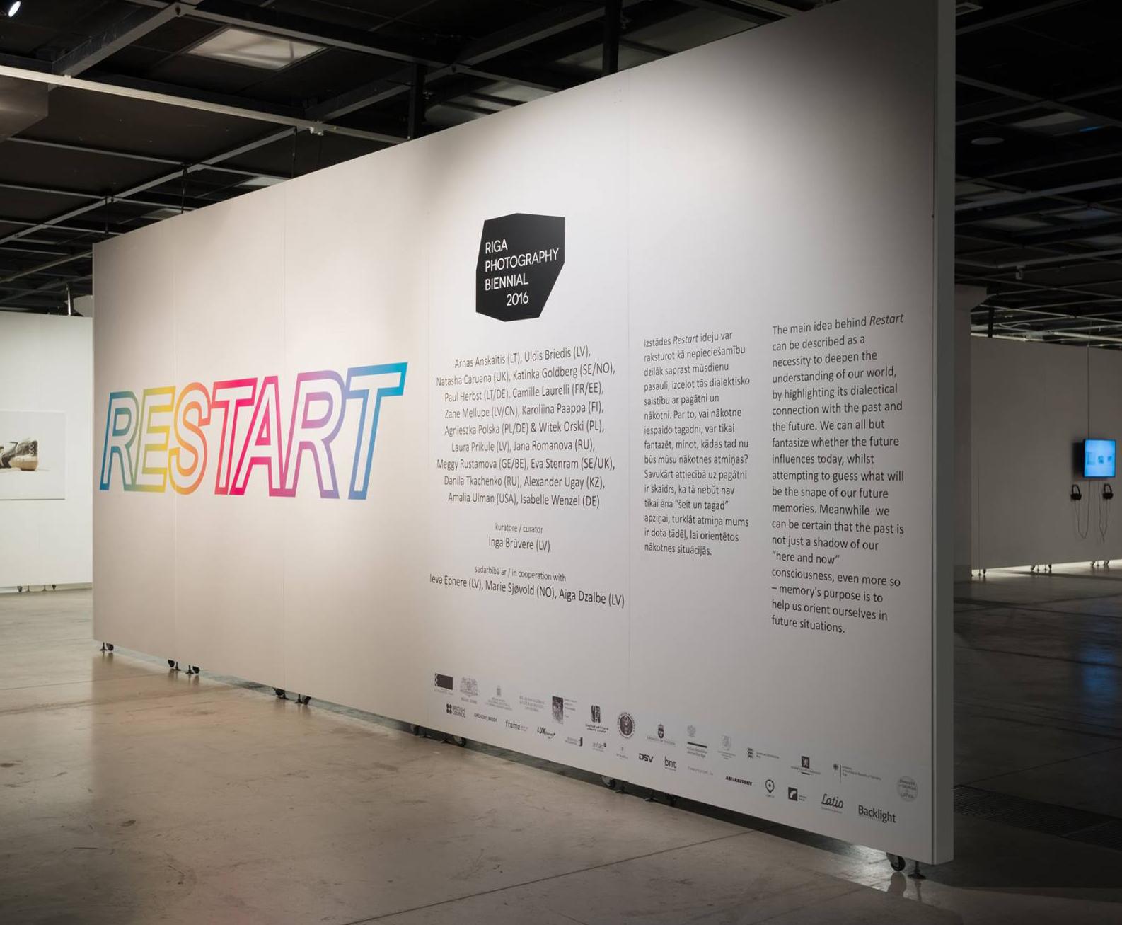 Backlight collaboration with Riga Photography Biennial, Latvia