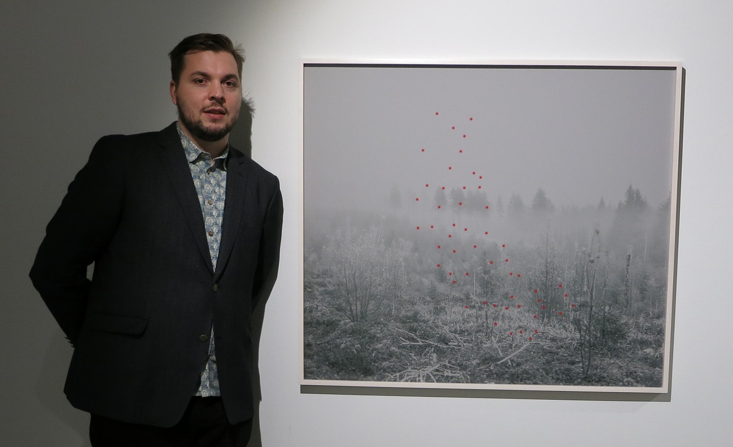 Jaakko Kahilaniemi has won the Majaoja Prize 10.000€ at Backlight ´17