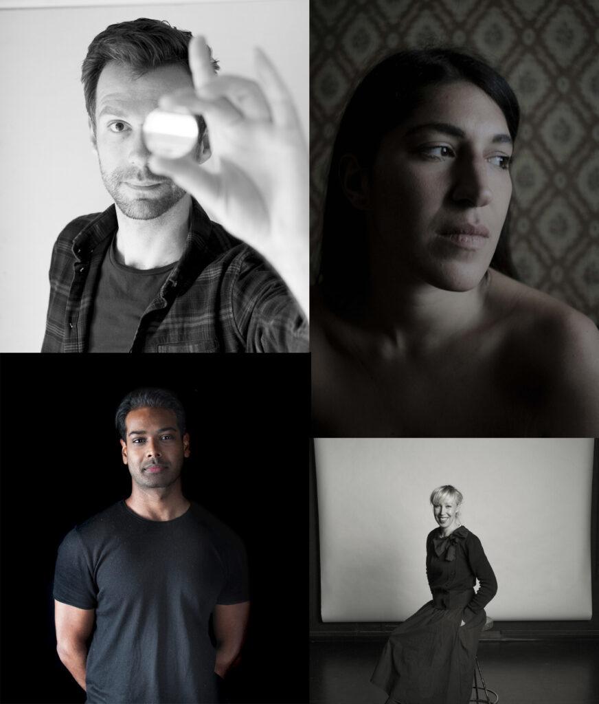 Majaoja Prize winners Sjoerd Knibbeler, Alba Zari, Chirag Jindal and Saana Wang